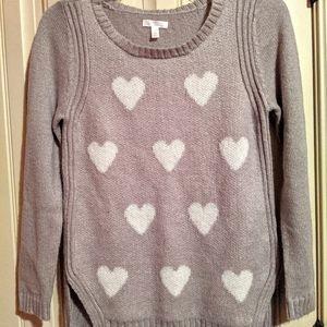 Cute & Soft Heart Sweater